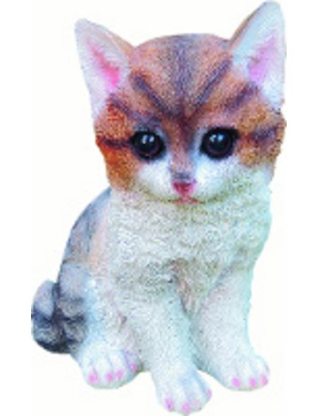 GRANIMEX Teichfigur »Holly«, Katze, Polystone, bunt