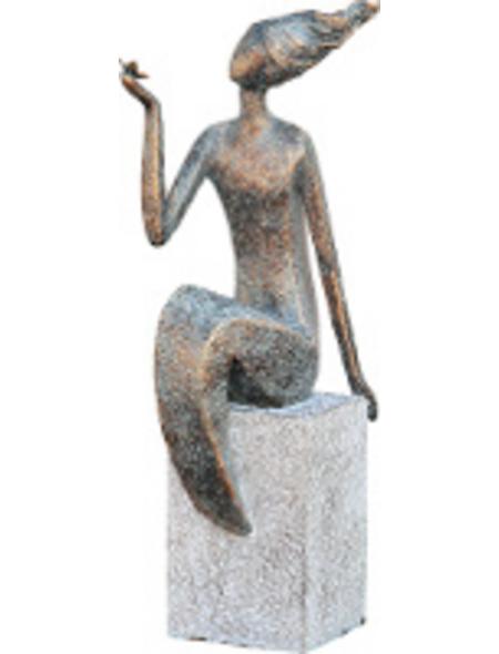 GRANIMEX Teichfigur »Lana«, Polystone, bronzefarben