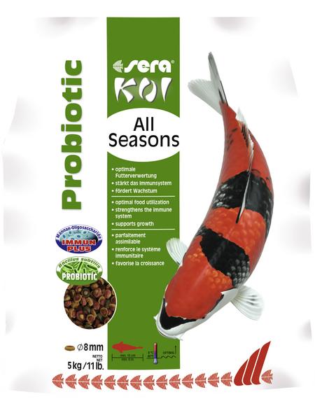 sera Teichfischfutter »Koi All Seasons Probiotic«, Pond, (5000g)