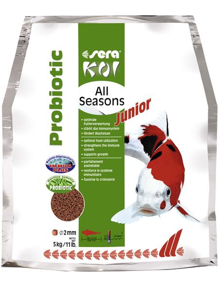 sera Teichfischfutter »Koi Junior All Seasons Probiotic«, Pond, (5000g)