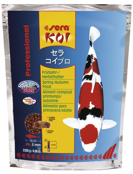 sera Teichfischfutter »Koi Professional Frühjahr-/Herbstfutter«, Pond, (2200 g)