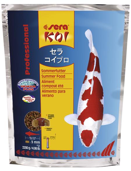 sera Teichfischfutter »Koi Professional Sommerfutter«, Pond, (2200 g)