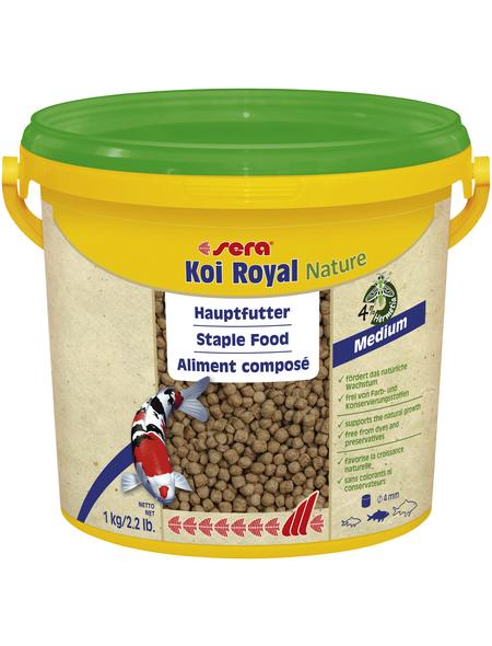 sera Teichfischfutter »Koi Royal Nature Medium«, Pond, 3800 ml (1000g)