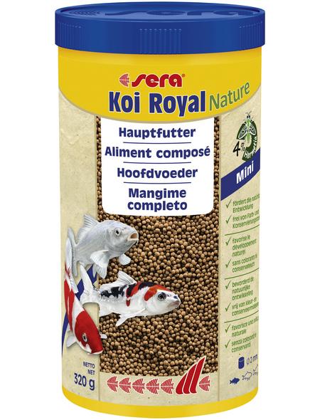 sera Teichfischfutter »Koi Royal Nature Mini«, Pond, 1000 ml (320g)