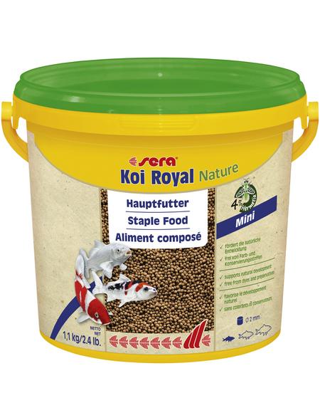 sera Teichfischfutter »Koi Royal Nature Mini«, Pond, 3800 ml (1100g)