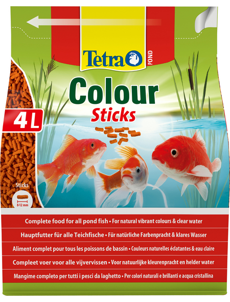 TETRA Teichfischfutter »Pond Colour «, Sticks, 4000 ml (750 g)