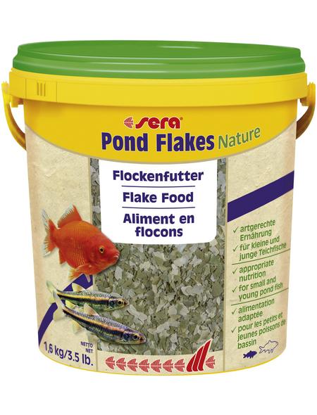 sera Teichfischfutter »Pond Flakes Nature«, Pond, 10000 ml (1600g)