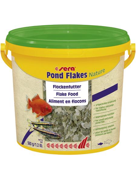 sera Teichfischfutter »Pond Flakes Nature«, Pond, 3800 ml (560g)