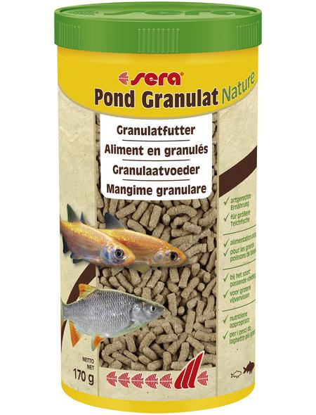 sera Teichfischfutter »Pond Granulat Nature«, Pond, 1000 ml (170g)