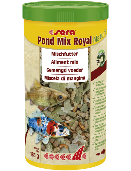 sera Teichfischfutter »Pond Mix Royal Nature«, Pond, 1000 ml (185g)