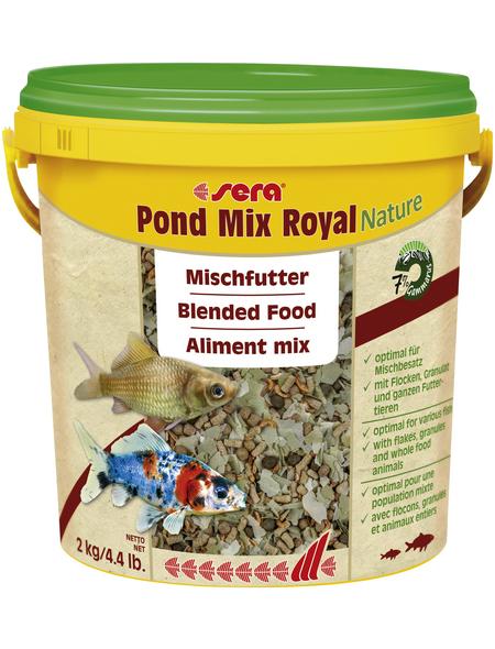 sera Teichfischfutter »Pond Mix Royal Nature«, Pond, 10000 ml (2000g)