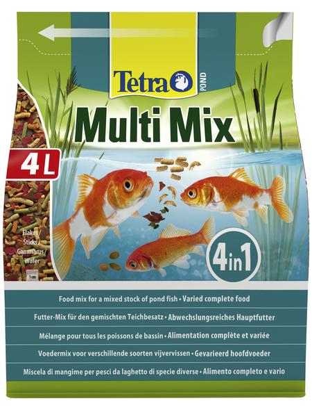 TETRA Teichfischfutter »Pond Mulit Mix«, Flocken, Sticks, 4000 ml (650 g)