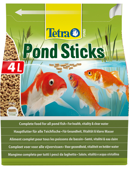 TETRA Teichfischfutter »Pond «, Sticks, 4000 ml (650 g)