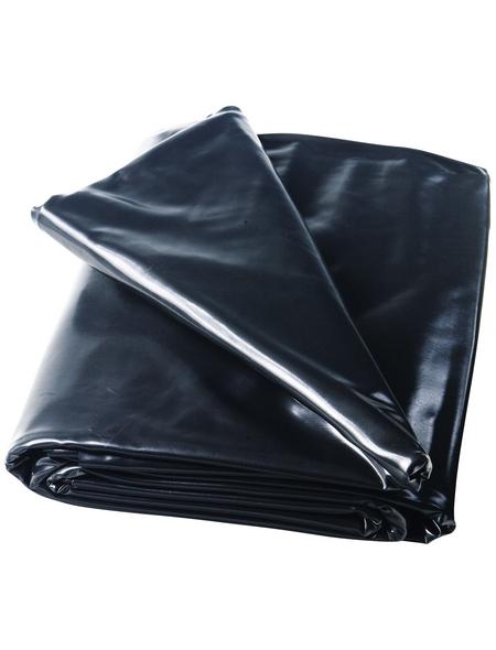 HEISSNER Teichfolie, BxL: 8 x 6 m, Stärke: 1 mm, schwarz