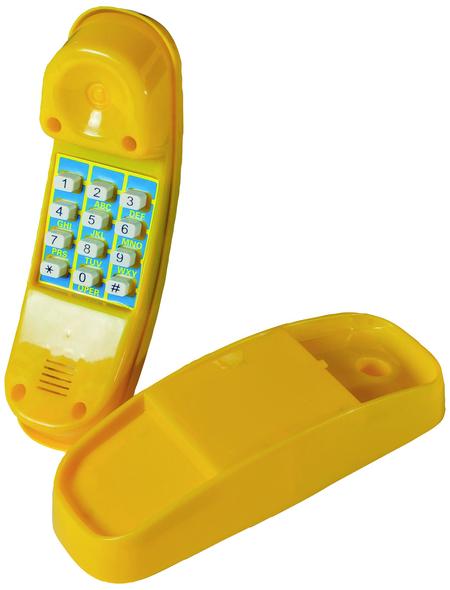 AKUBI Telefon, BxL: 20,5 x 6,5 cm, gelb