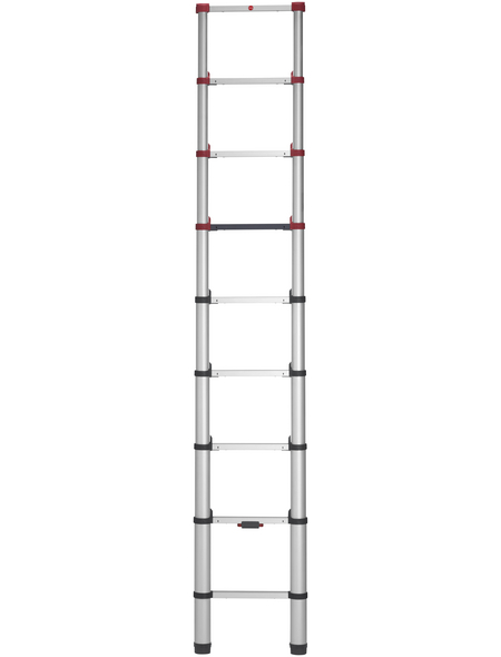 HAILO Teleskopleiter »Flexline 260«, 9 Sprossen, Aluminium