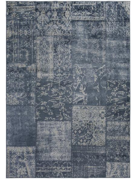 LUXORLIVING Teppich »Famos«, BxL: 80 x 150 cm, blau