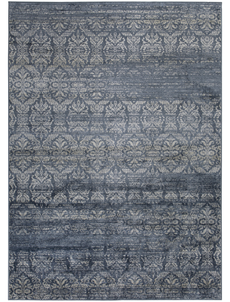 LUXORLIVING Teppich »Famos«, BxL: 80 x 150 cm, dunkelblau