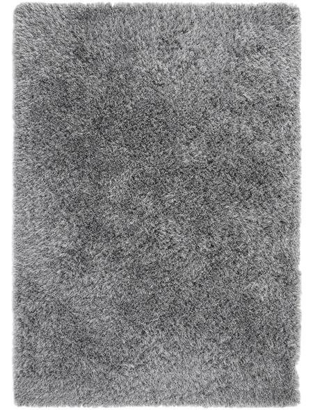 LUXORLIVING Teppich »Levanto Deluxe«, BxL: 130 x 190 cm, schwarz
