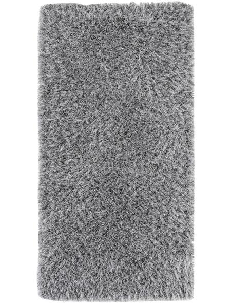 LUXORLIVING Teppich »Levanto Deluxe«, BxL: 65 x 130 cm, silberfarben