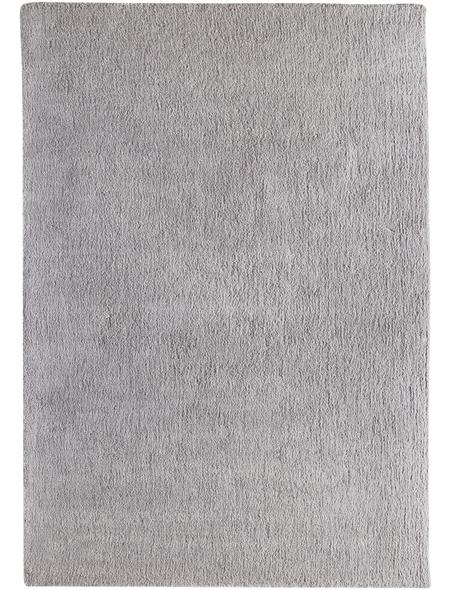 LUXORLIVING Teppich »San Remo«, BxL: 70 x 140 cm, silberfarben
