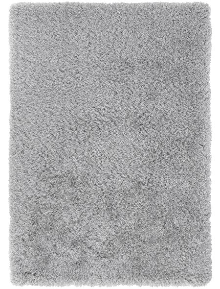 ANDIAMO Teppich »Sora«, BxL: 140 x 100 cm, schwarz