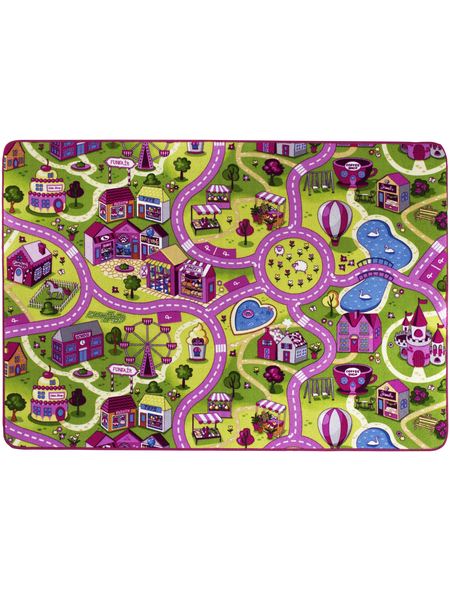 ANDIAMO Teppich »Sweet Village«, BxL: 140 x 200 cm, bunt