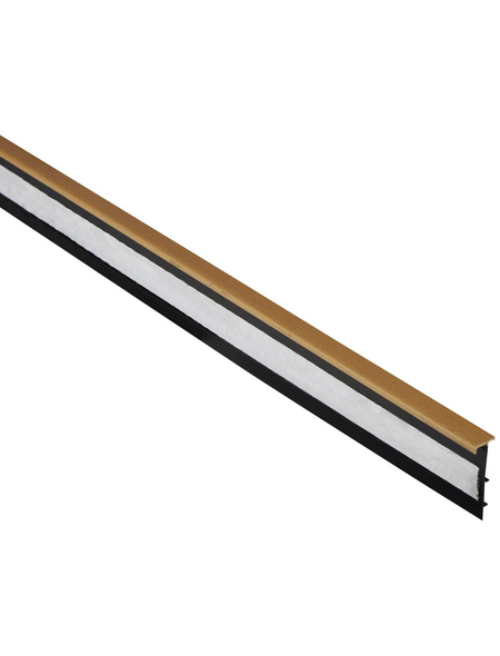 FN NEUHOFER HOLZ Teppicheinschubleiste, Buche braun, Kunststoff, LxHxT: 250 x 5,1 x 1,4 cm