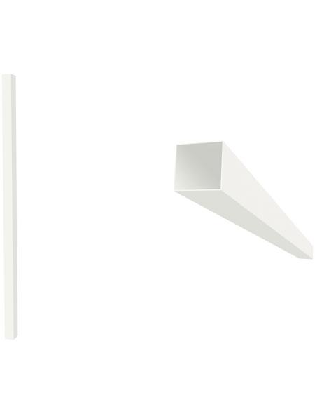 GARDENDREAMS Terrassendach »Easy Edition«, Breite: 600 cm, Dach: Polycarbonat (PC), Farbe: weiß