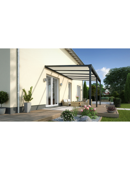 GARDENDREAMS Terrassendach »Easy Edition«, H (max) x B x T: 264  x 300 x 300 cm