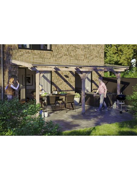 Terrassendach, H (max) x B x T: 266  x 541 x 300 cm