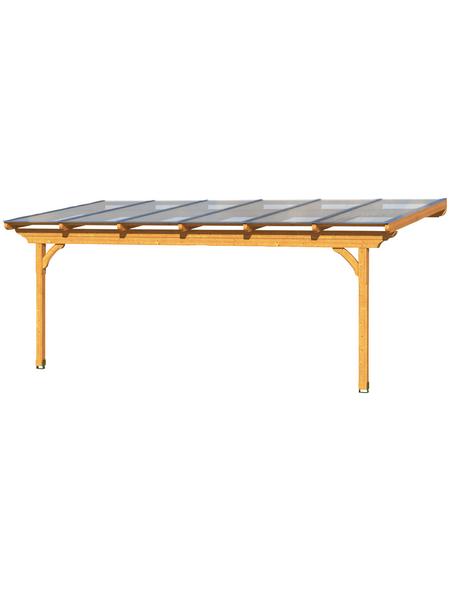 Terrassendach, H (max) x B x T: 272  x 648 x 250 cm