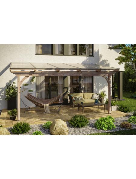 Terrassendach, H (max) x B x T: 278  x 541 x 300 cm