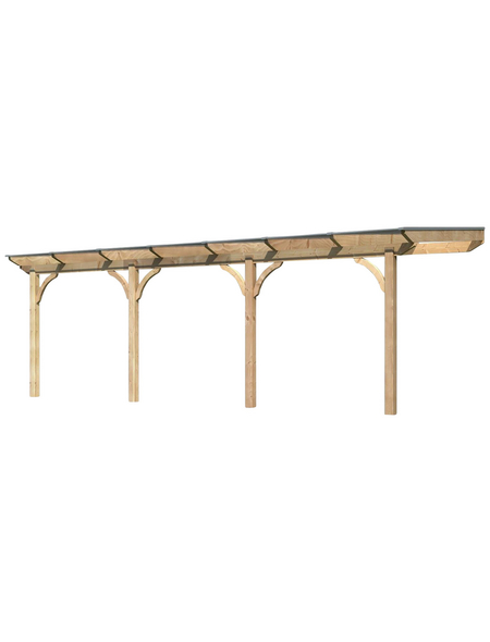 KARIBU Terrassendach »Premium 1«, 714 cm