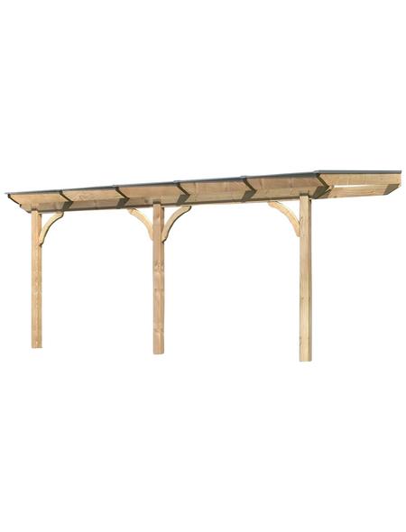 KARIBU Terrassendach »Premium 1«, H (max) x B x T: 252  x 512 x 250 cm