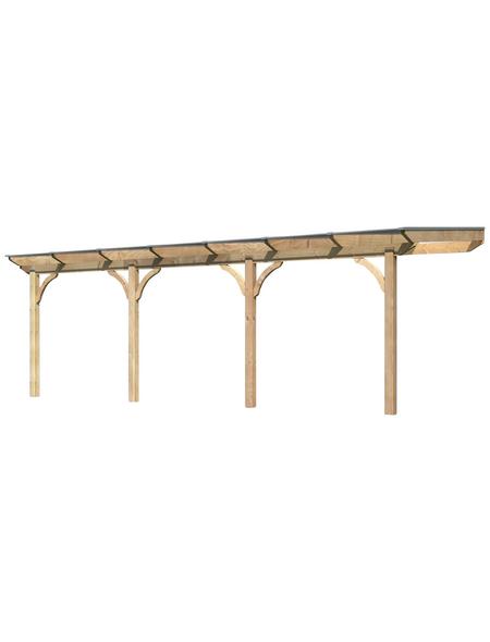 KARIBU Terrassendach »Premium 1«, H (max) x B x T: 252  x 714 x 250 cm