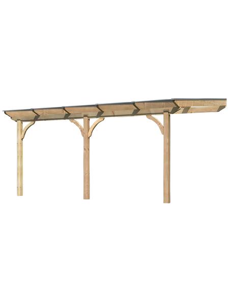 KARIBU Terrassendach »Premium 2«, (B x T x H): 512 x 300 x 257 cm