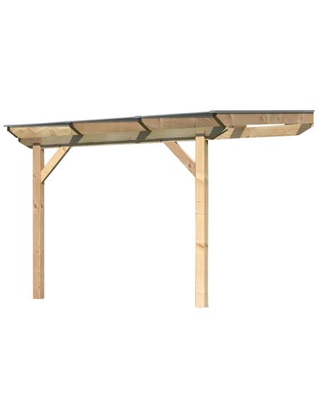 KARIBU Terrassendach »Premium 2«, H (max) x B x T: 257  x 310 x 300 cm