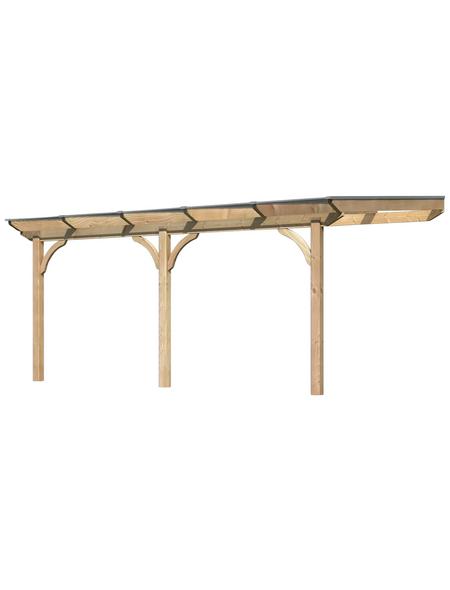 KARIBU Terrassendach »Premium 3«, H (max) x B x T: 261  x 512 x 350 cm