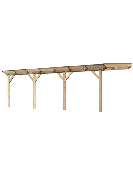 KARIBU Terrassendach »Premium 3«, H (max) x B x T: 261  x 714 x 350 cm