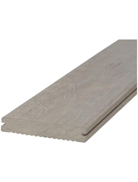 Terrassendiele »DREAMDECK«, Breite: 12,5 cm, gemasert gerillt