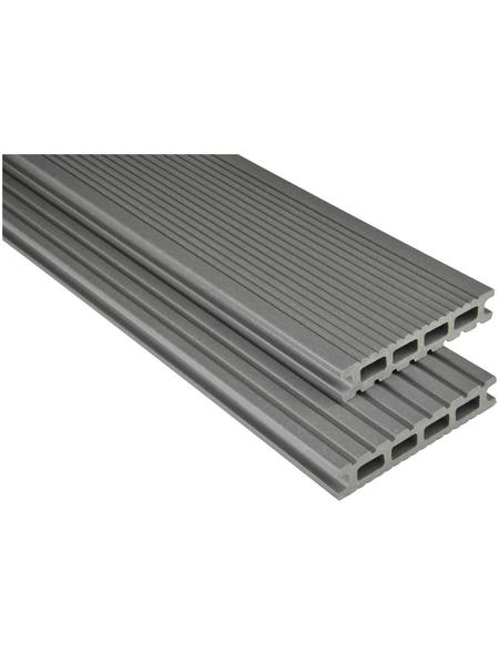 Terrassendiele »WPC«, Breite: 15 cm, Stärke: 2,6 cm, matt
