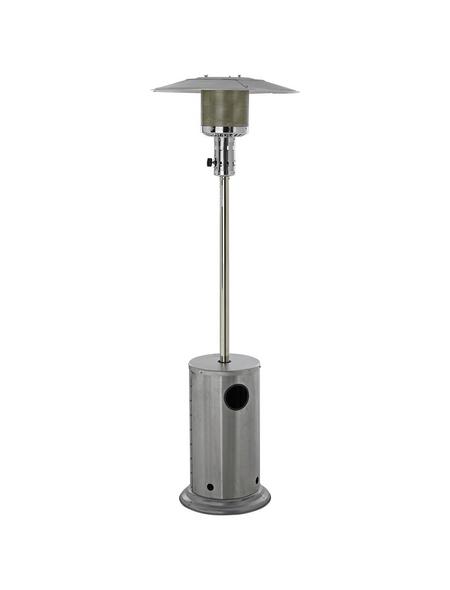 ACTIVA Terrassenheizstrahler »Brolly Power«, Edelstahl/Aluminium, stufenlos regulierbar, Höhe: 228 cm, 12000 W