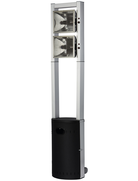 ENDERS Terrassenheizstrahler, Stahl/Aluminium, mit 2 Leistungsstufen, Höhe: 213 cm, 4400 W