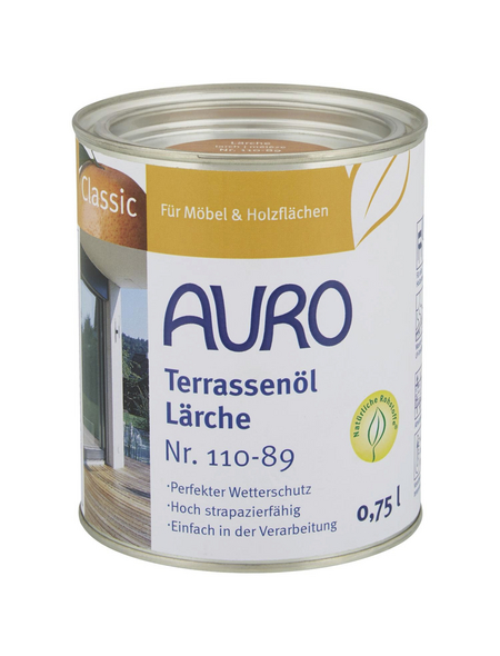 AURO Terrassenöl »Classic«, lärche, 0,75 l