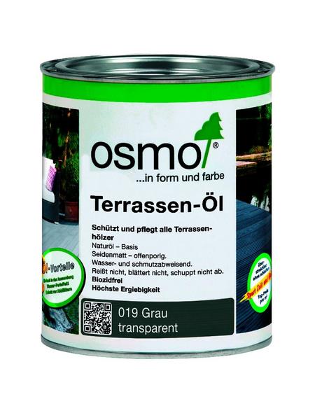 OSMO Terrassenöl, grau, seidenmatt, 0,75 l