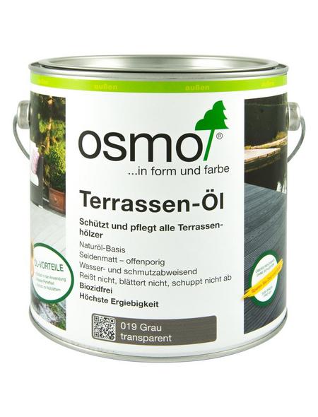 OSMO Terrassenöl, grau, seidenmatt, 2,5 l