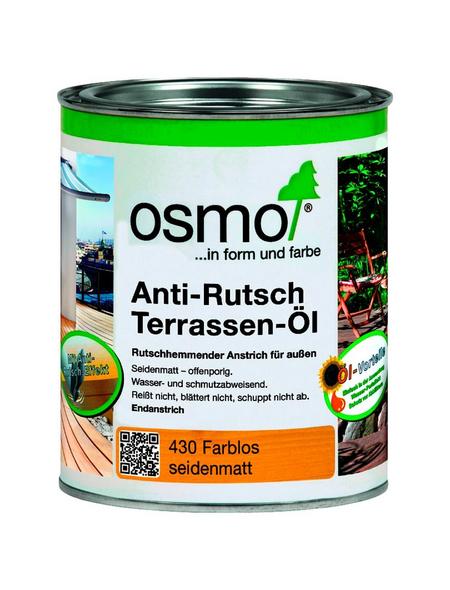 OSMO Terrassenöl, transparent, seidenmatt, 0,75 l