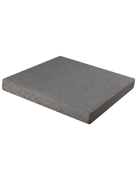 EHL Terrassenplatte, aus Beton, Kanten: gefast