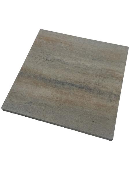 MR. GARDENER Terrassenplatte »Cebolla«, aus Beton, Kanten: gefast